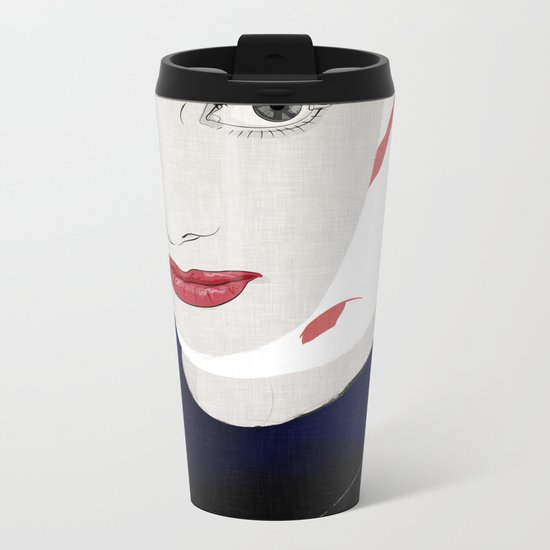 Audrey 005 Metal Travel Mug