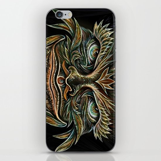 Forest Elemental Color iPhone & iPod Skin
