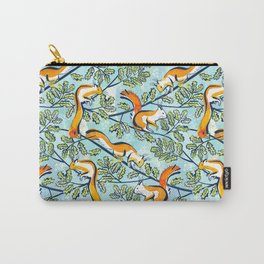 Oak Tree with Squirrels in Summer Carry-All Pouch