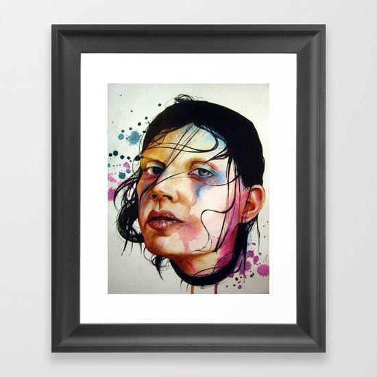 Suffocate Framed Art Print