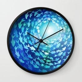 Aquatics Wall Clock