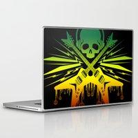 punk rock Laptop & iPad Skins featuring punk rock  by jhun21