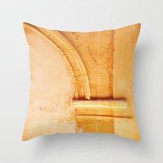 Stone arch detail. Throw Pillow