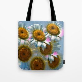 Colorful Daisies Tote Bag