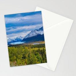 Matanuska Glacier, Alaska - Autumn Stationery Cards