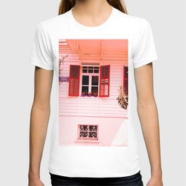 From my red window. T-shirt