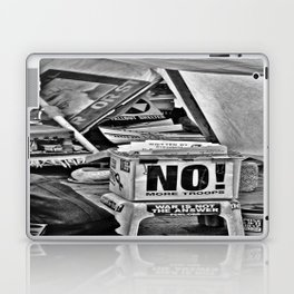 War is NOT the answer Laptop & iPad Skin