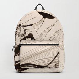 """Gustav Klimt """"Fish Blood"""" Backpack"""