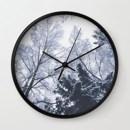 Scared cities Wall Clock