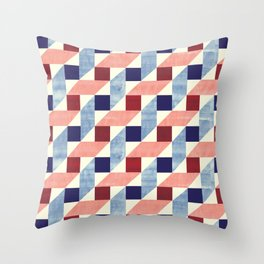 Lightly Bauhaus Throw Pillow