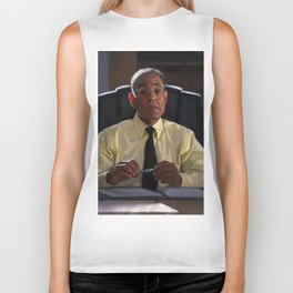 Gus Fring In The Office Los Pollos Hermanos In Better Call Saul Biker Tank
