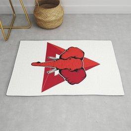 Elephant Delta Triangle Sigma Red Theta, Delta Elephant, Delta Elephant Design, Delta Sigma Theta  Rug