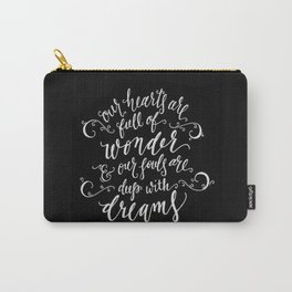 Wonder and Dreams Carry-All Pouch