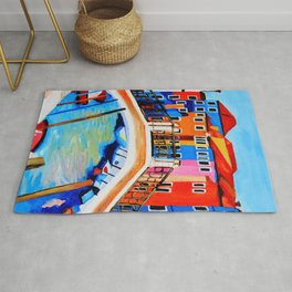 Colors of Venice Italy Rug