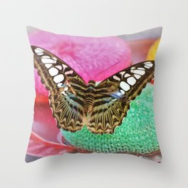 Thirsty Clipper Throw Pillow