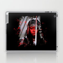 Michonne The Walking Dead Start to Finish Laptop & iPad Skin