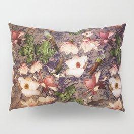 Magnolias and Hummingbirds Pillow Sham