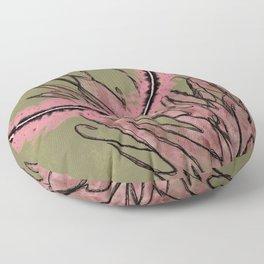 Spiky Green Head Floor Pillow