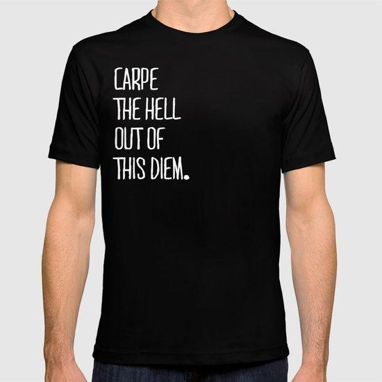 Carpe Diem ///www.pencilmeinstationery.com T-shirt