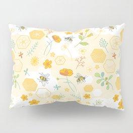 Honey Bees and Buttercups Pillow Sham
