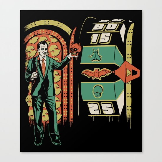 The Price is Fright Canvas Print