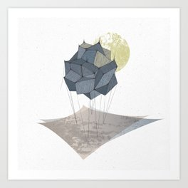 The Rock of Humanity Art Print