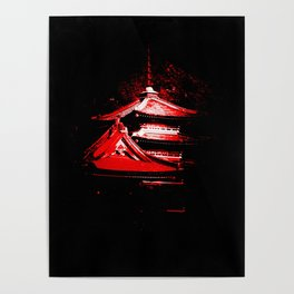 Red Pagoda Poster