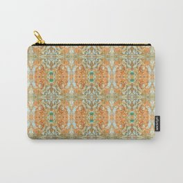Humming Bird Orange Carry-All Pouch