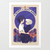 Something I Want to Protect (Light Version) Art Print