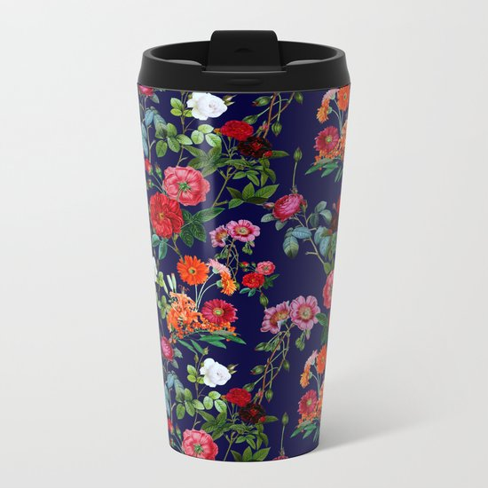 Botanical Garden V Metal Travel Mug