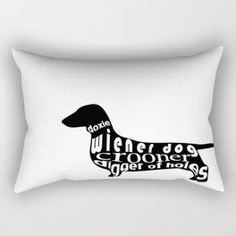 Wiener Dog Rectangular Pillow