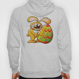 Easter Bunny Falling in Love Hoody