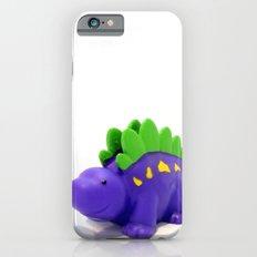 Happy Purple Dinosaur Slim Case iPhone 6s