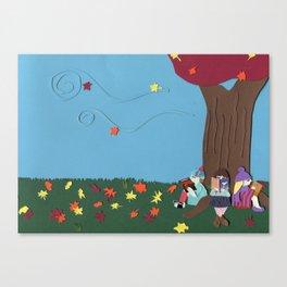 A Bosom Friend Canvas Print