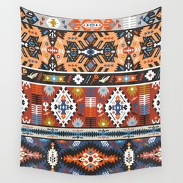 Fancy abstract geometric vector pattern in tribal style.cdr Wall Tapestry