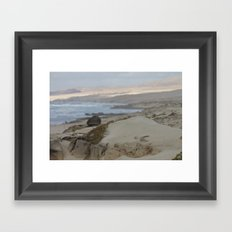 Area Protegida Framed Art Print