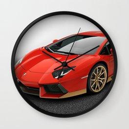 L amborghini Aventador Wall Clock