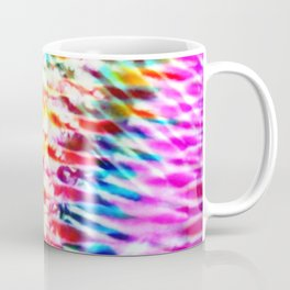 Crumpled Rainbow V Tie Dye Coffee Mug