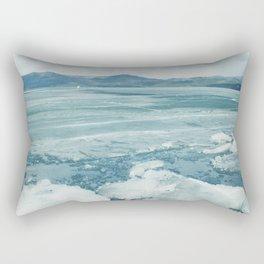 Spring lake Rectangular Pillow