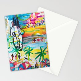 Pattaya in Thailand Stationery Cards