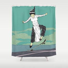 [ LET YOURSELF GO! ] The Vietnamese lady. Shower Curtain