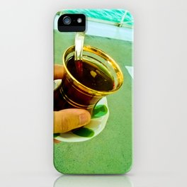 Memories of a Tea. iPhone Case