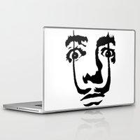 salvador dali Laptop & iPad Skins featuring salvador dali by b & c