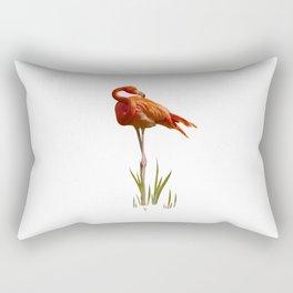The Florida Flamingo Rectangular Pillow