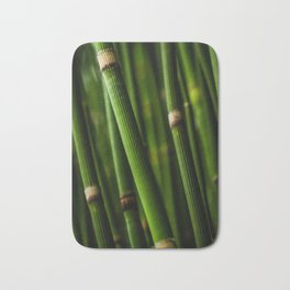 Bamboo pattern Bath Mat