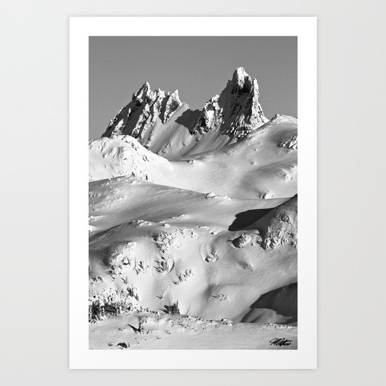Mt.Fee Landscape series, Whistler BC Canada #5 of 5 Art Print