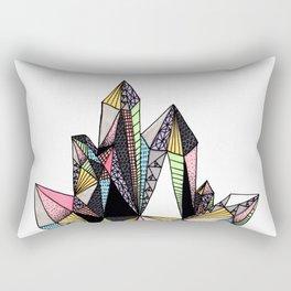 Diamond Crystal Rectangular Pillow
