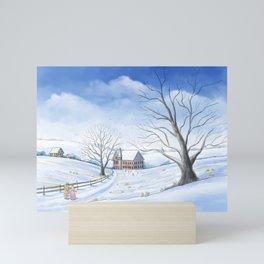 A Christmas Carol Mini Art Print