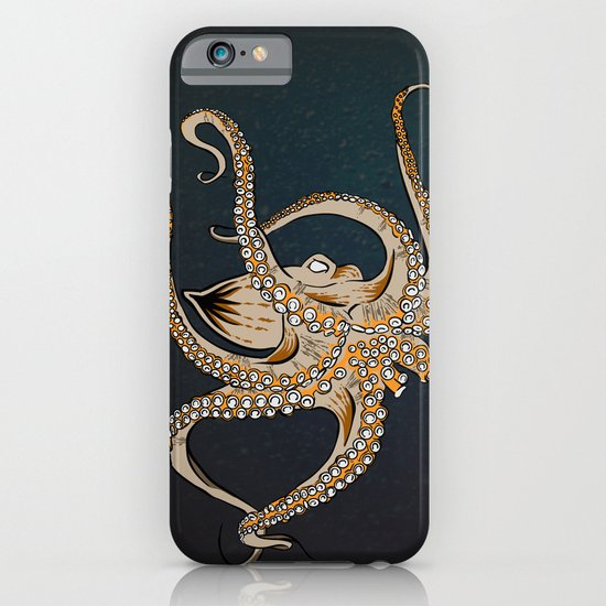 Embrace Of The Octopus iPhone & iPod Case