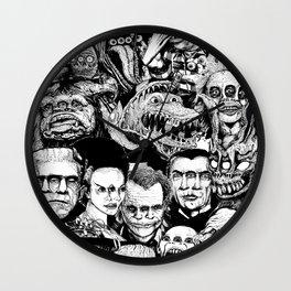 So Many Monsters Wall Clock